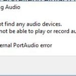[Audacity] Windows 10: No Audio devices found