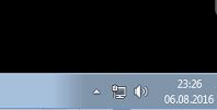Windows-Symbol für versteckte Anwendungen