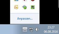 So klappt man die versteckten Windows-Symbole wieder auf