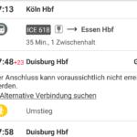 Die Bahn-Apps und ein Hauptproblem: Bauarbeiten und deren Bahnfahrpläne