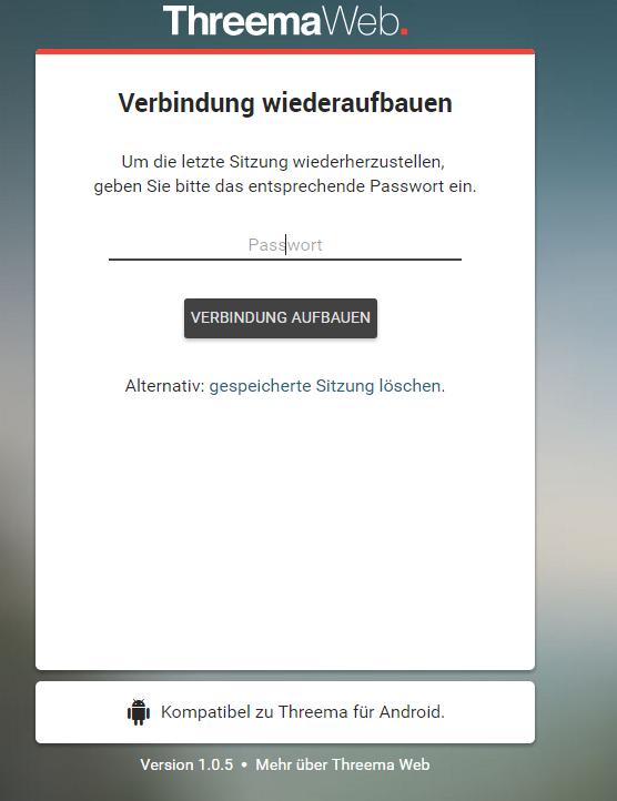 Threema Web – jetzt kann man Threema auch im Browser nutzen