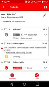 Der Streckenagent der Deutschen Bahn