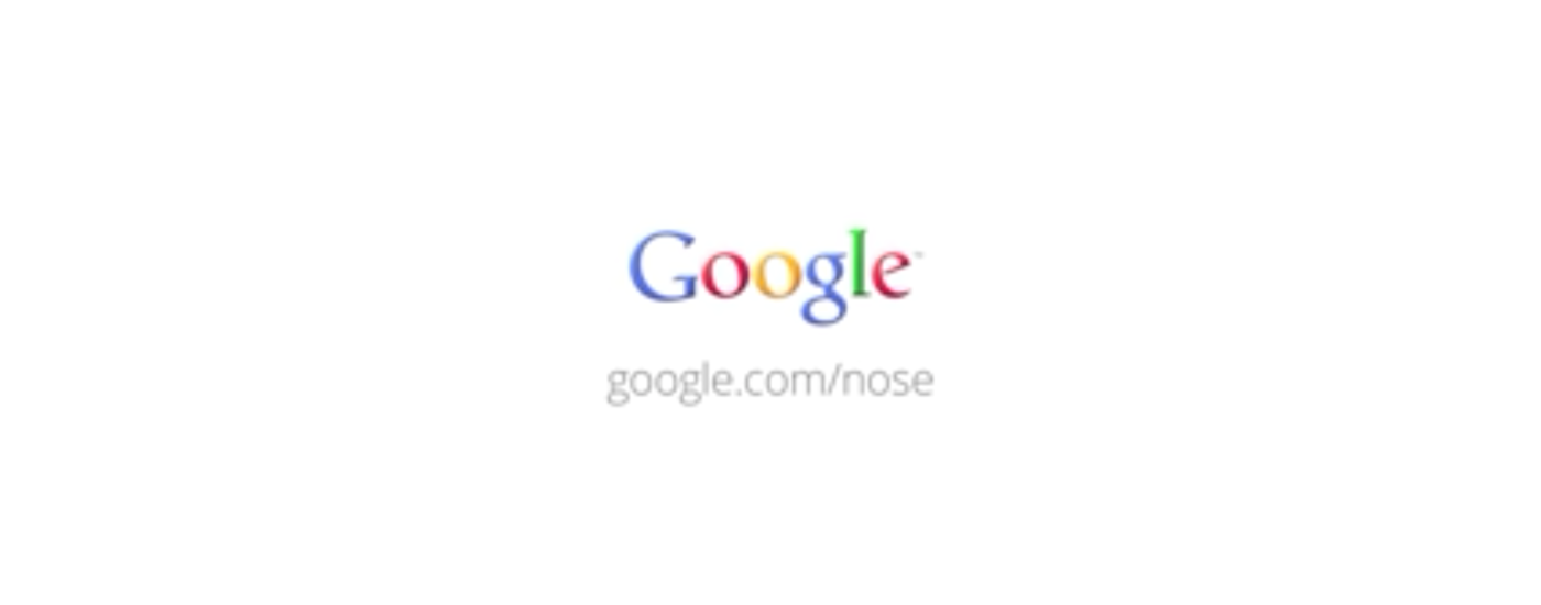 Ein Screenshot von Google Nose