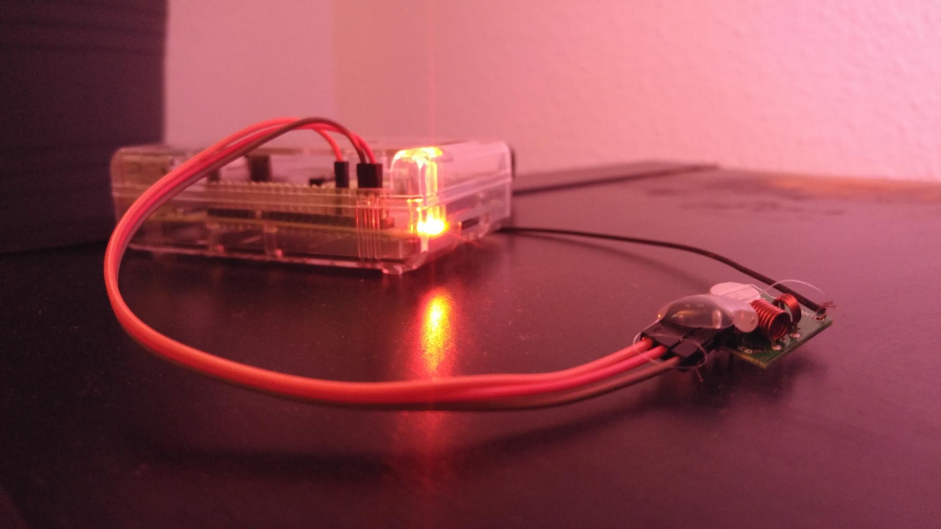 Funksteckdosen über Raspberry Pi steuern
