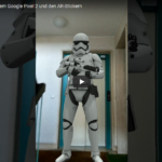 Augmented Reality in der Foto-App von Google