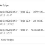 Podcasts unter Android – Google Rich Snippets für Podcasts
