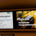 Echtzeitdaten bei der BVG